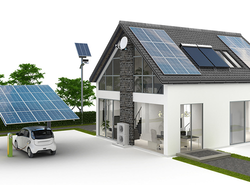 Energieversorung am Einfamilienhaus VI